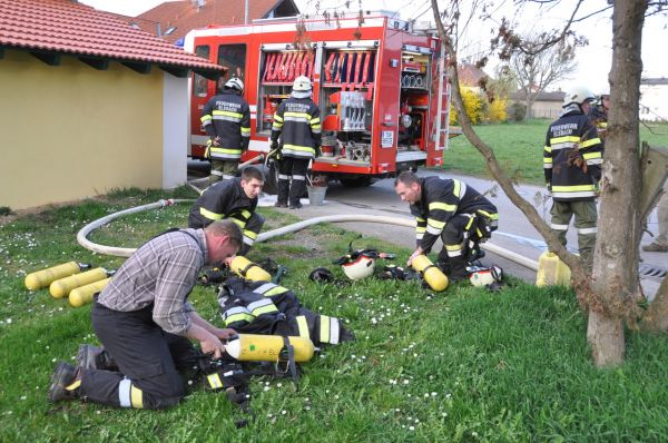 LKW-Brand in Elsbach