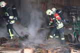Scheunenbrand in Gumperding